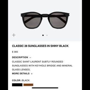 Yves Saint Laurent brand new sunglasses